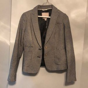 EUC BAnana republic houndstooth blazer